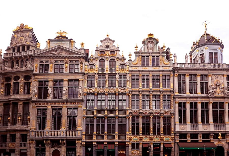 Grand place ver Bruselas