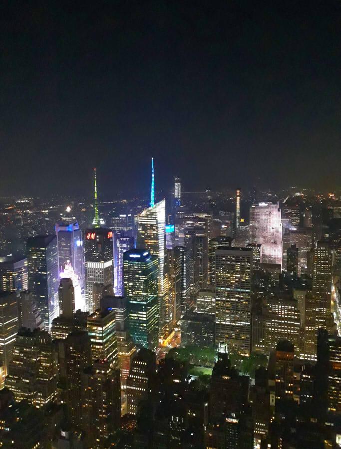 Contaminación lumínica Nueva York