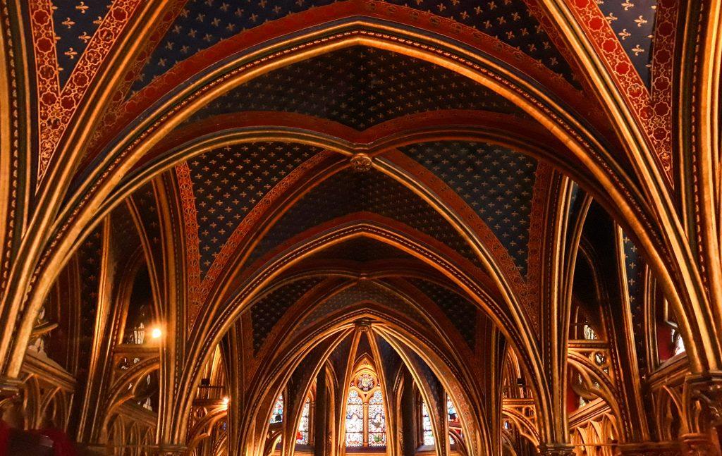 Sainte Chapelle en París.