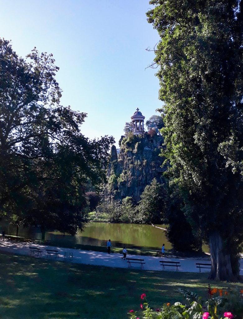 Parc des Buttes-Chaumont qué ver paris 4 o 5 días