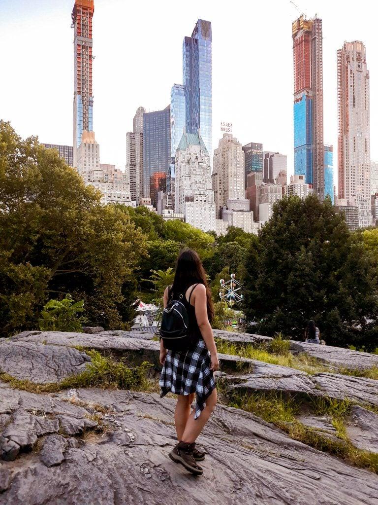 Skyline de Nueva York desde Central Park Consejos Nueva York en verano