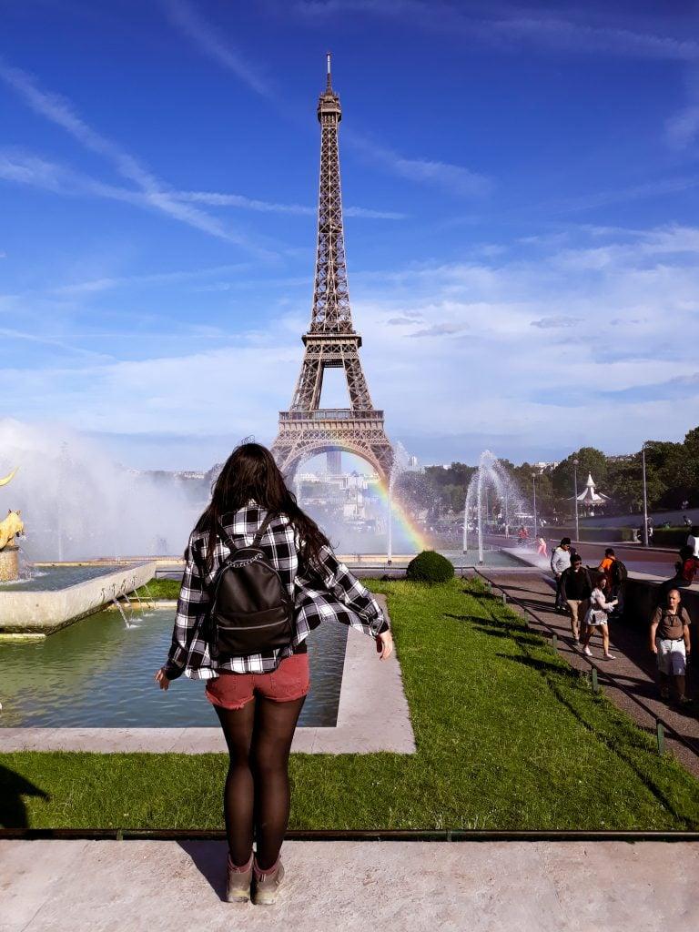 Torre Eiffel desde Trocadero que ver en París en 4 o 5 días