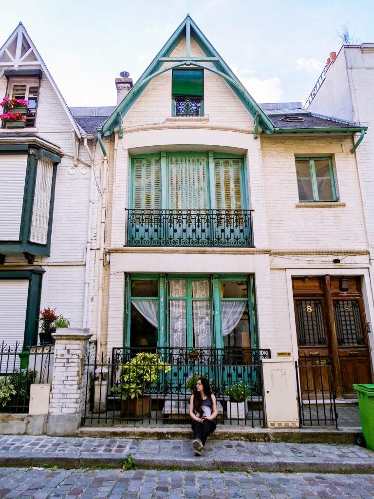Villa Leandre, Montmartre, París.