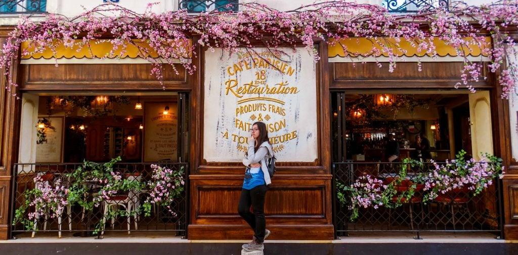 Cafetería Presupuesto para viajar a París