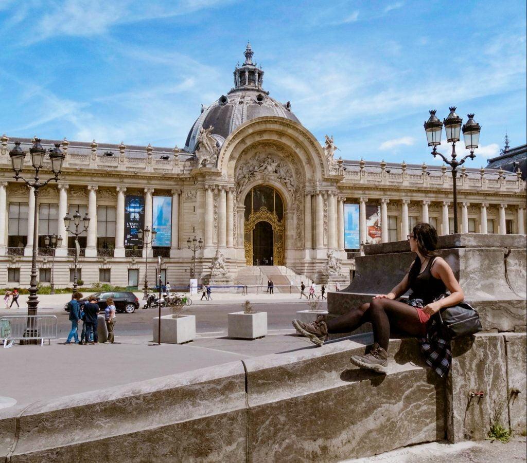 Petit palais en el Distrito I de París.
