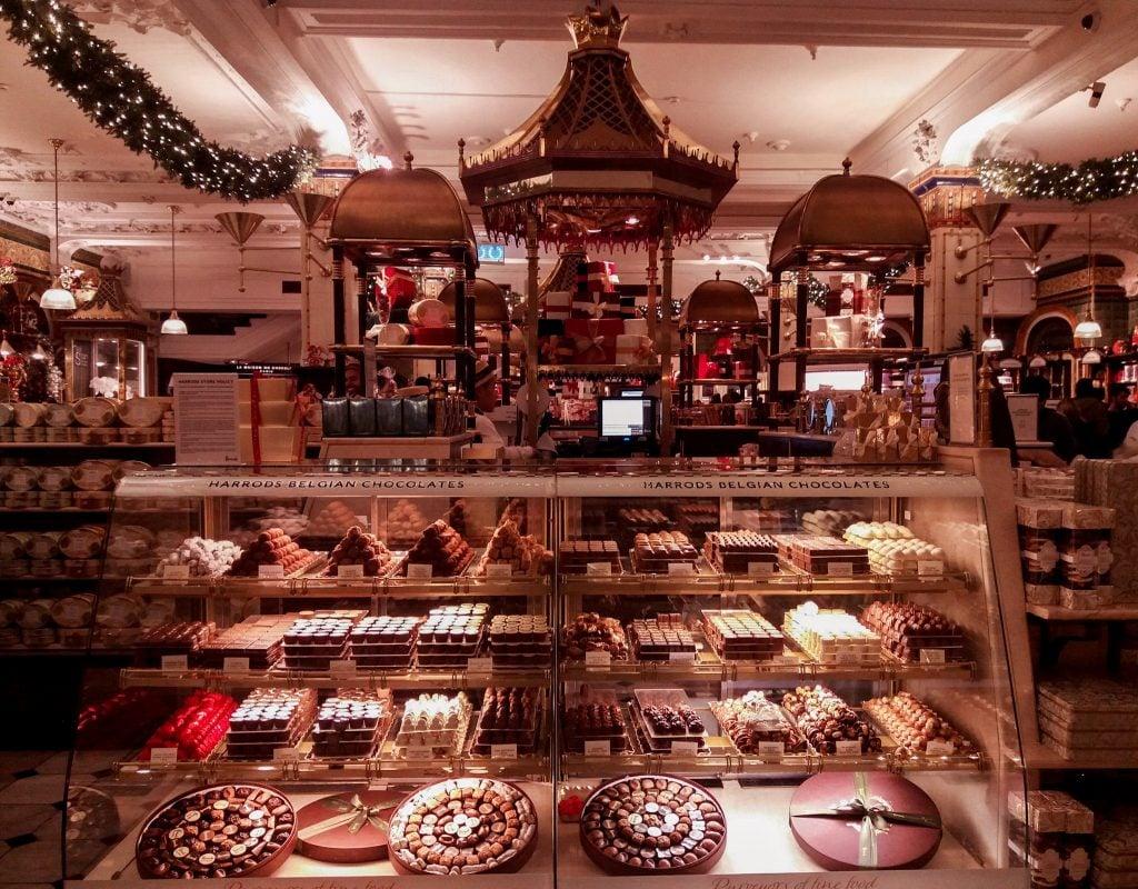 Chocolatería en Harrods