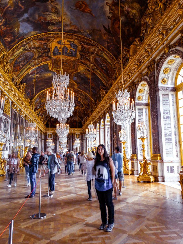 Galería de los espejos, Palacio de Versalles.