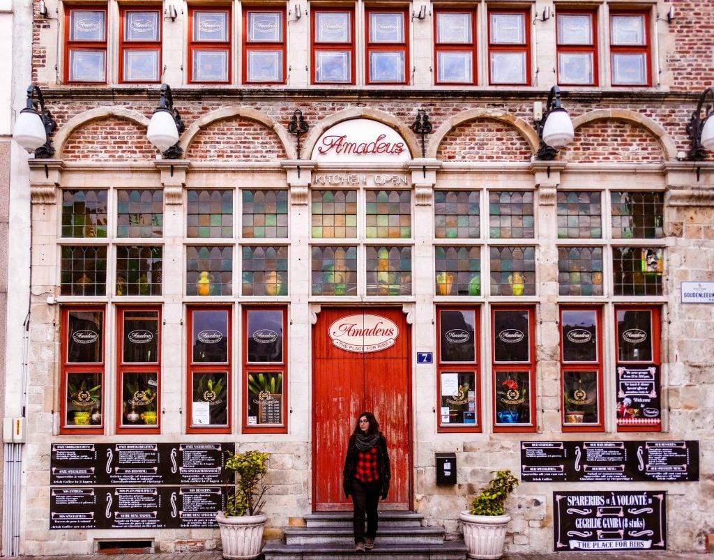 Photospot en Gante restaurante Amadeus