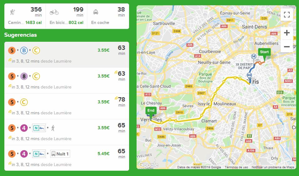 City mapper aplicación