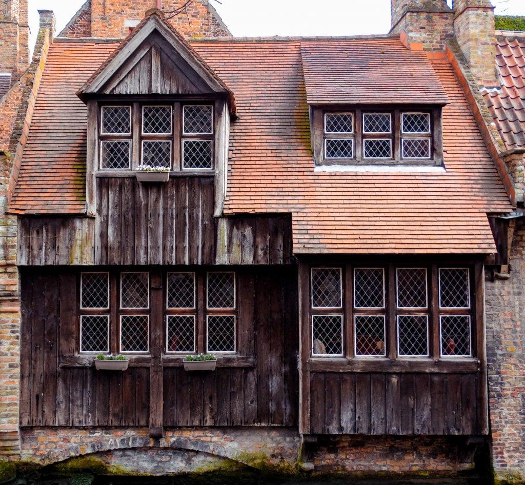 Casas medievales de Brujas