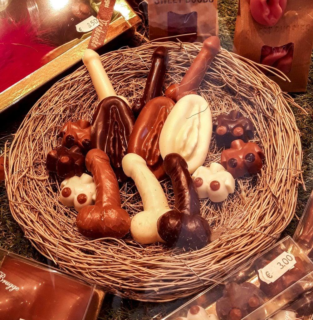 Chocolate belga qué comer en Bélgica
