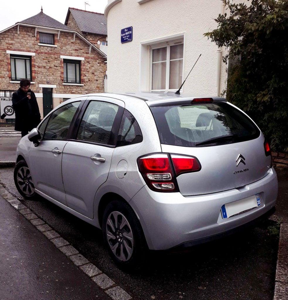 Coche ruta por Bretaña Rennes