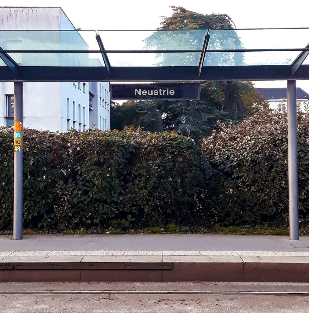 Estación Naustrie Nantes ruta por Bretaña