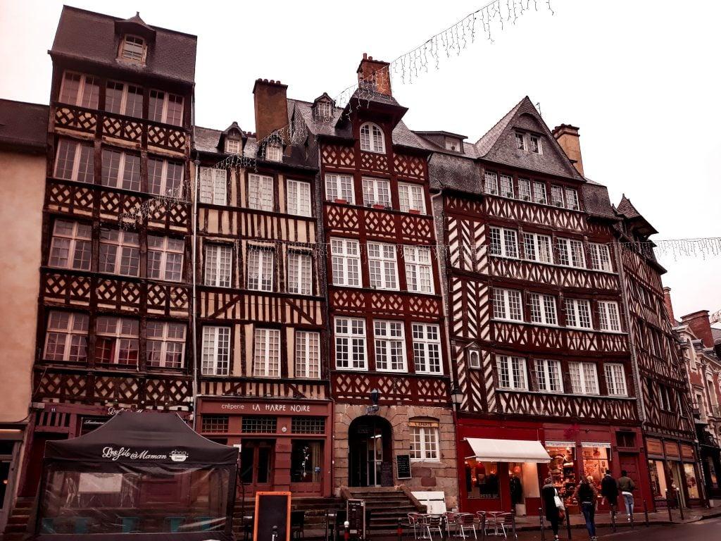 Ruta por Bretaña centro de Rennes