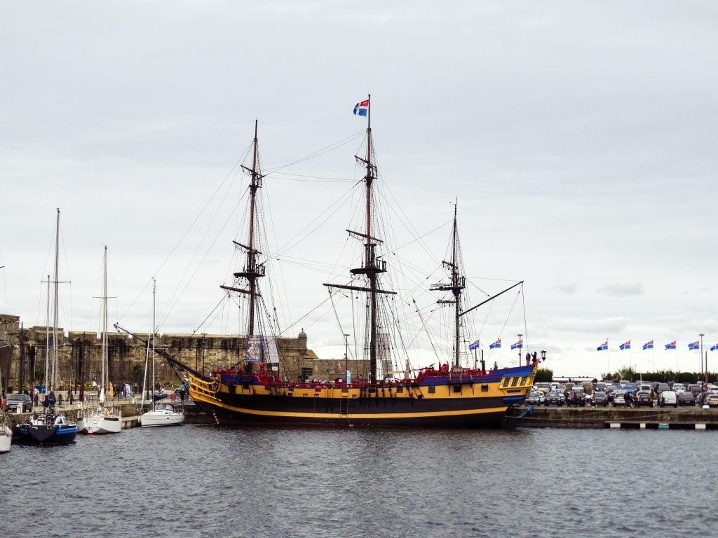 fragata pirata Étoile du Roy Saint Malo