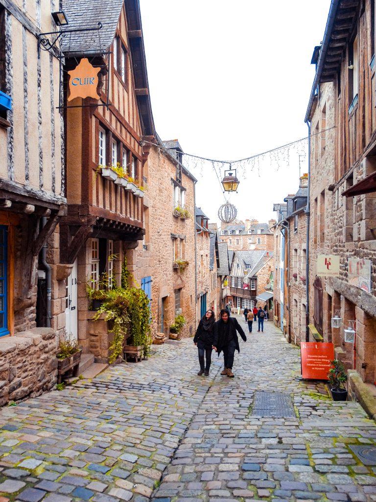 Rue du Jerzual que ver Saint Malo Dinan