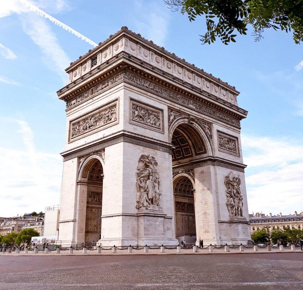 Arco del Triunfo de París, Distrito VIII