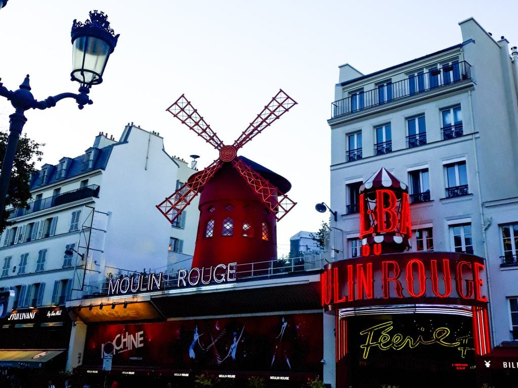 Moulin Rouge en Montmartre