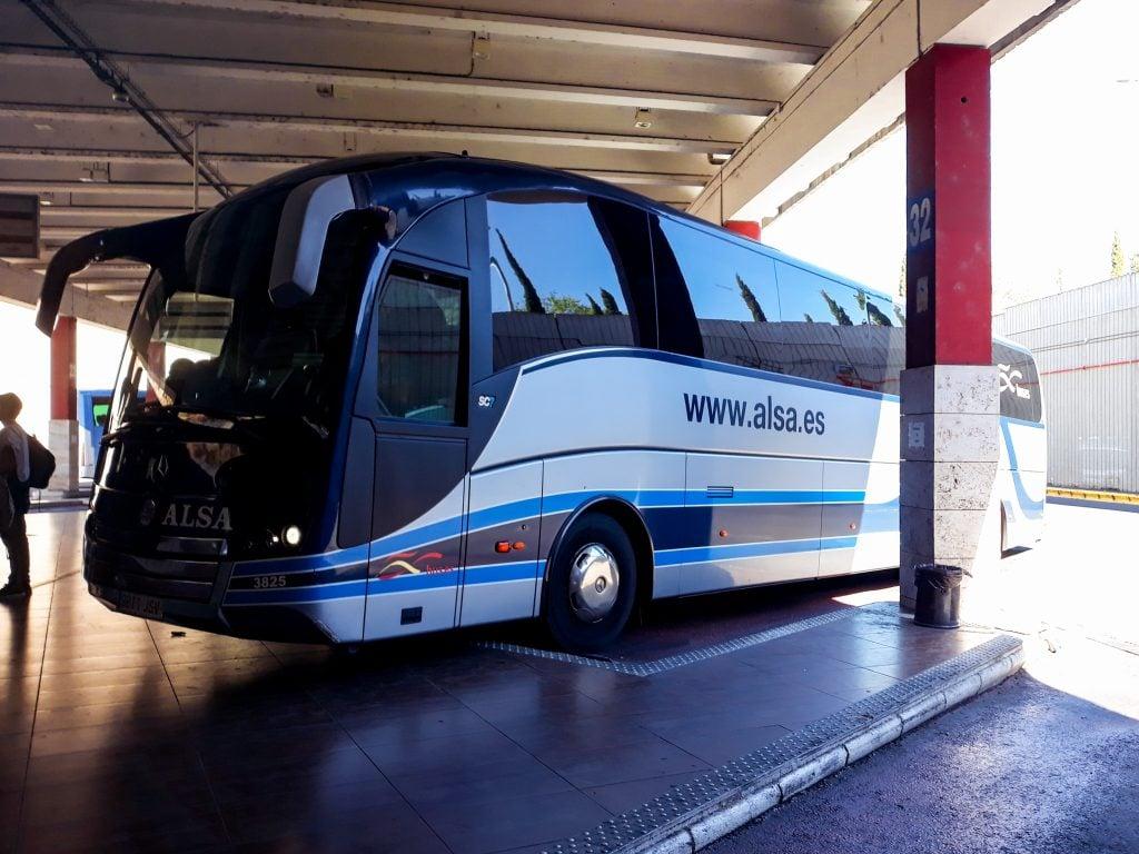 Autobuses escapada a Toledo