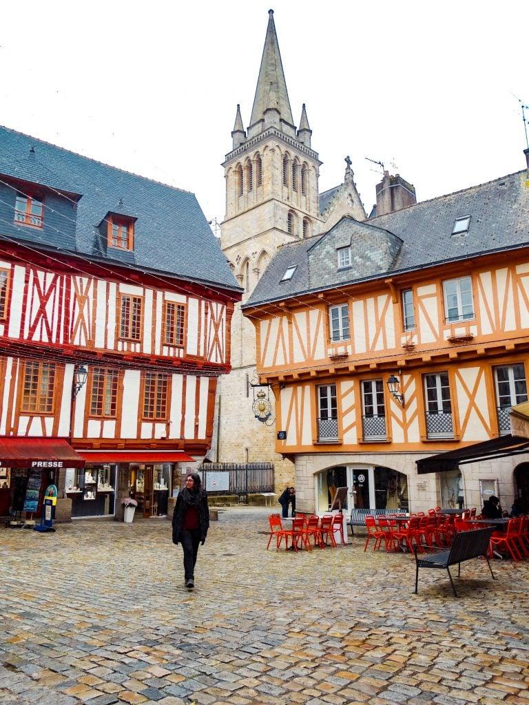 Place Henri IV Que ver en Vannes, Josselin y Rochefort-en-Terre