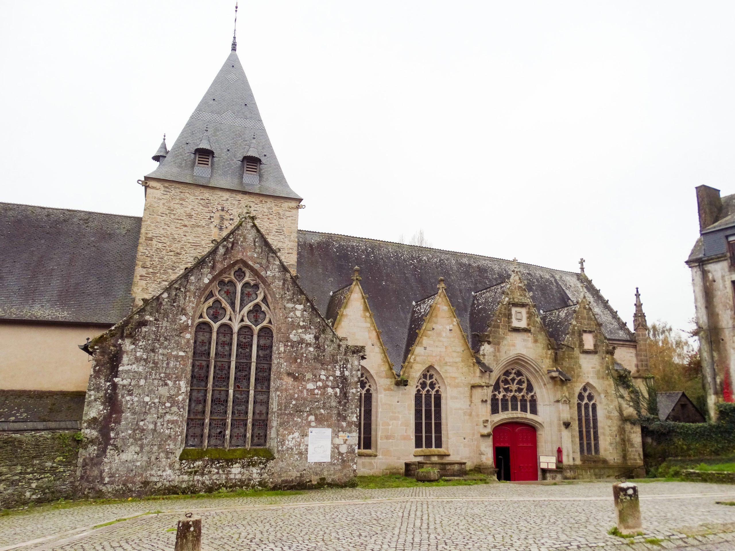 Iglesia Notre Dame de la Tronchaye Rochefort-en-Terre
