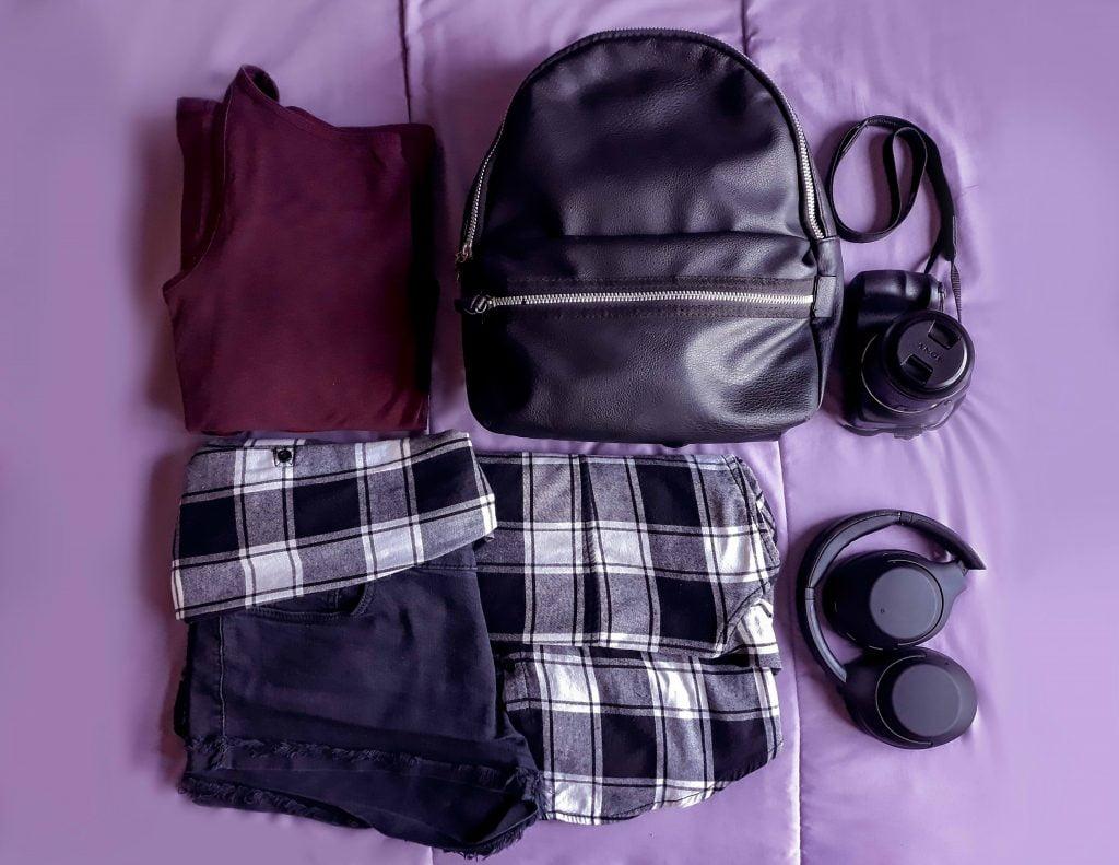 ropa para equipaje de mano