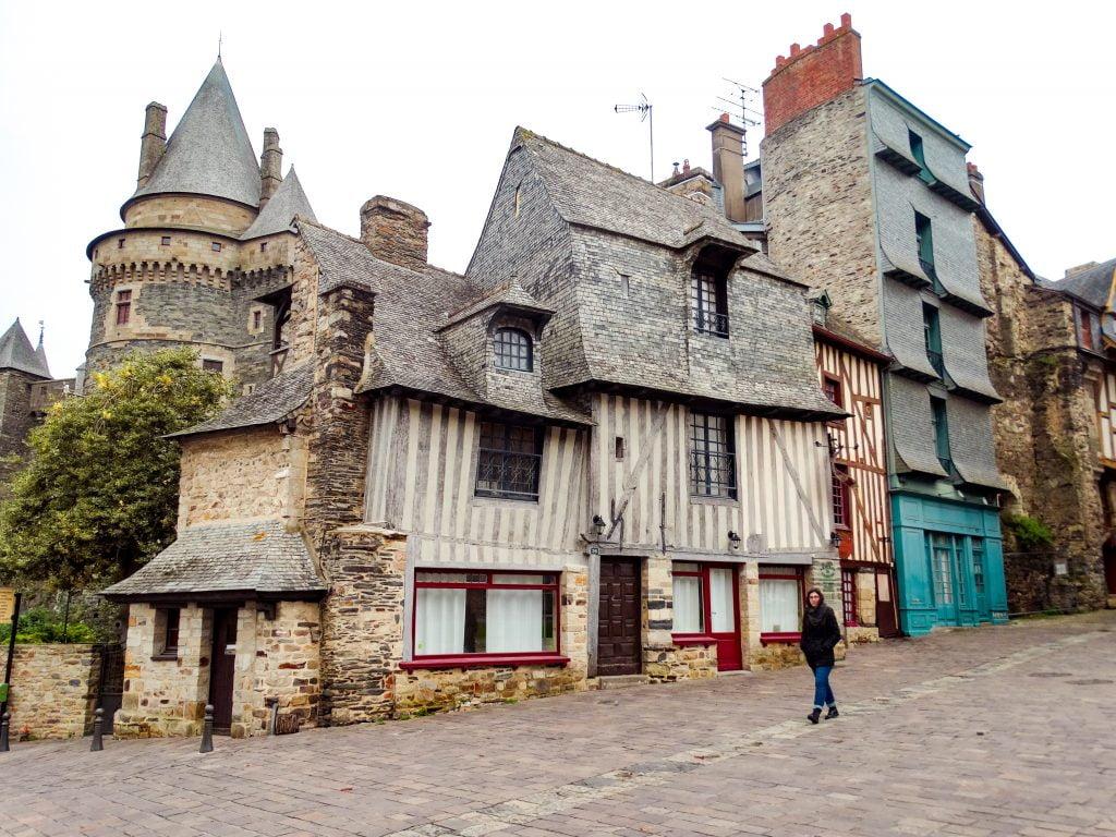Vitré pueblos imprescindibles Bretaña francesa