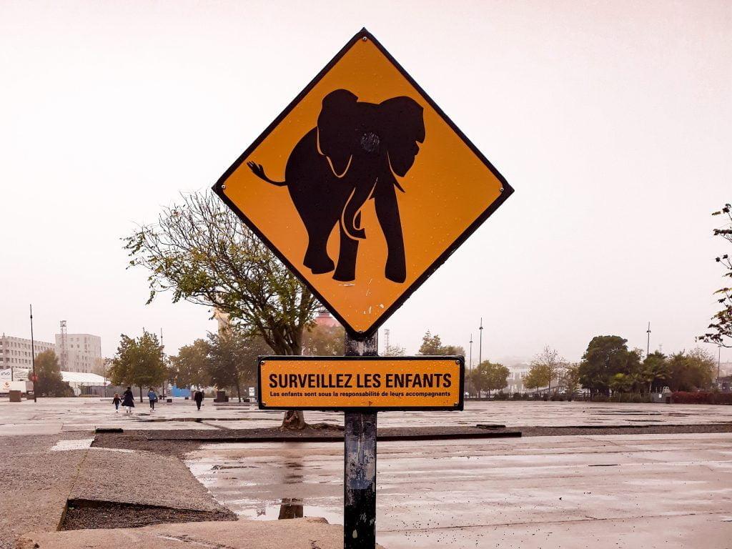 Señal elefante Nantes