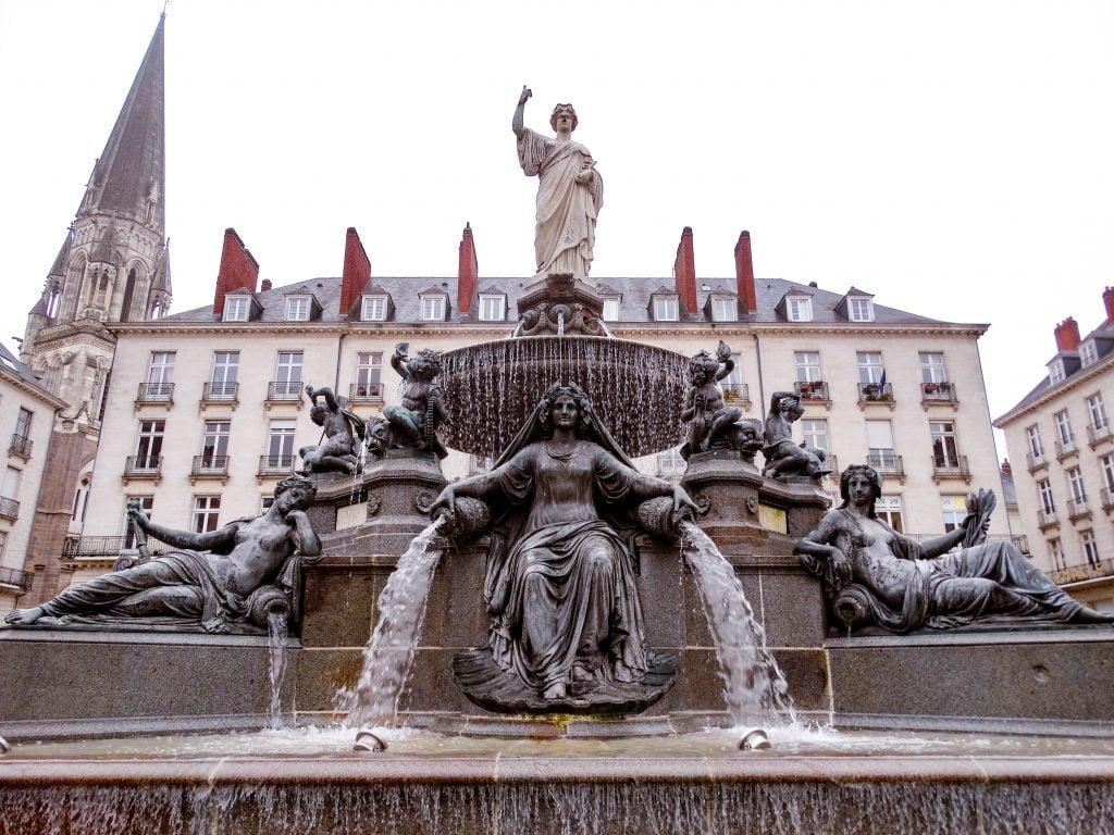 Place Royale Nantes que ver