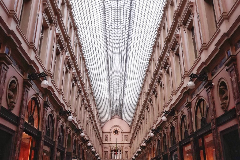 Galerías Saint Hubert Bruselas