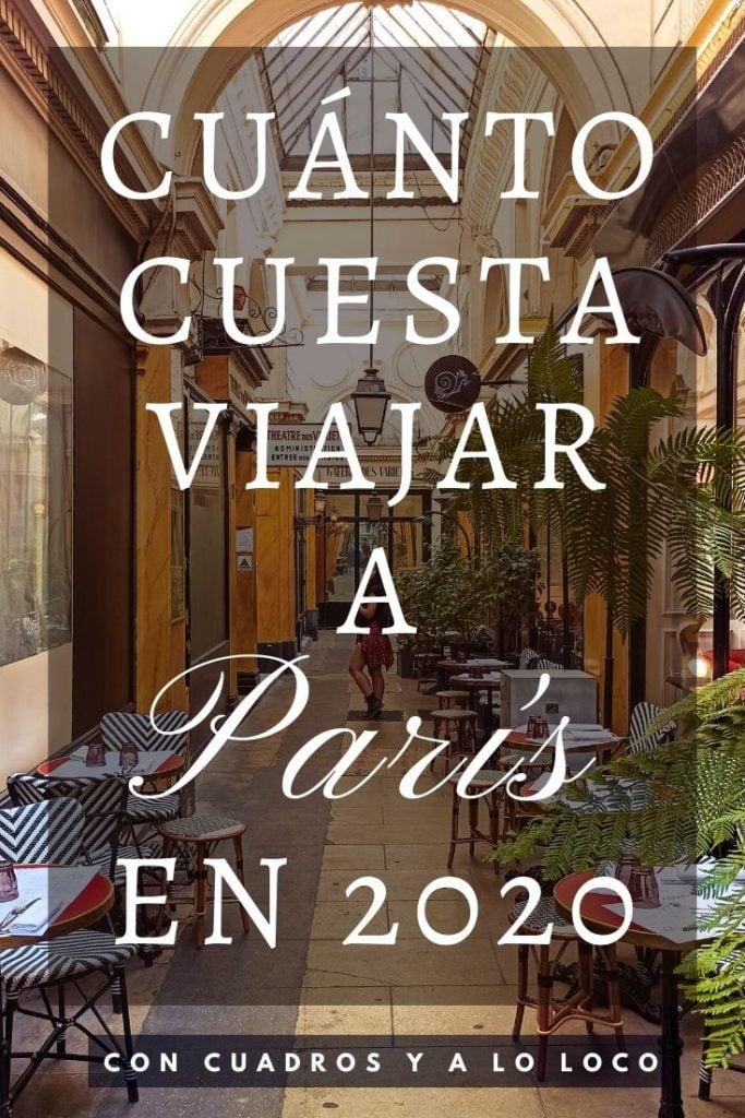 Pin sobre Presupuesto para viajar a París 2020 de Con cuadros y a lo loco