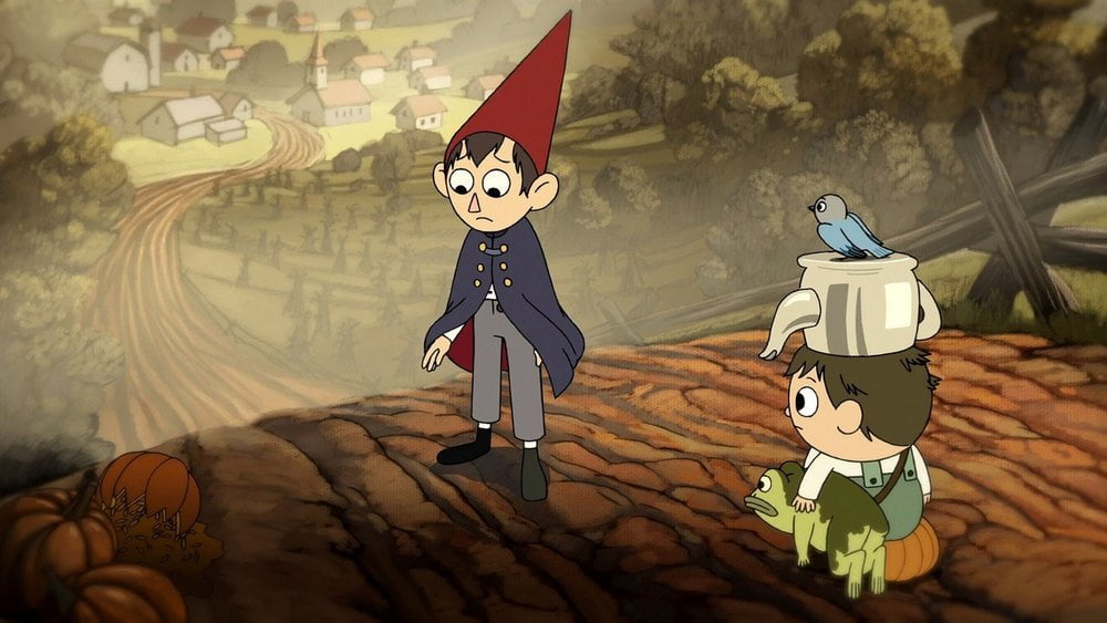 Series de terror Over the garden wall