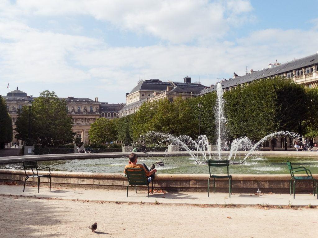 Jardín del Palacio Real Distrito I de París