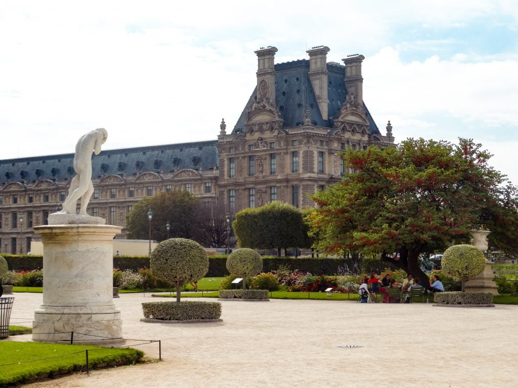 Jardín de las tullerías distrito I de París