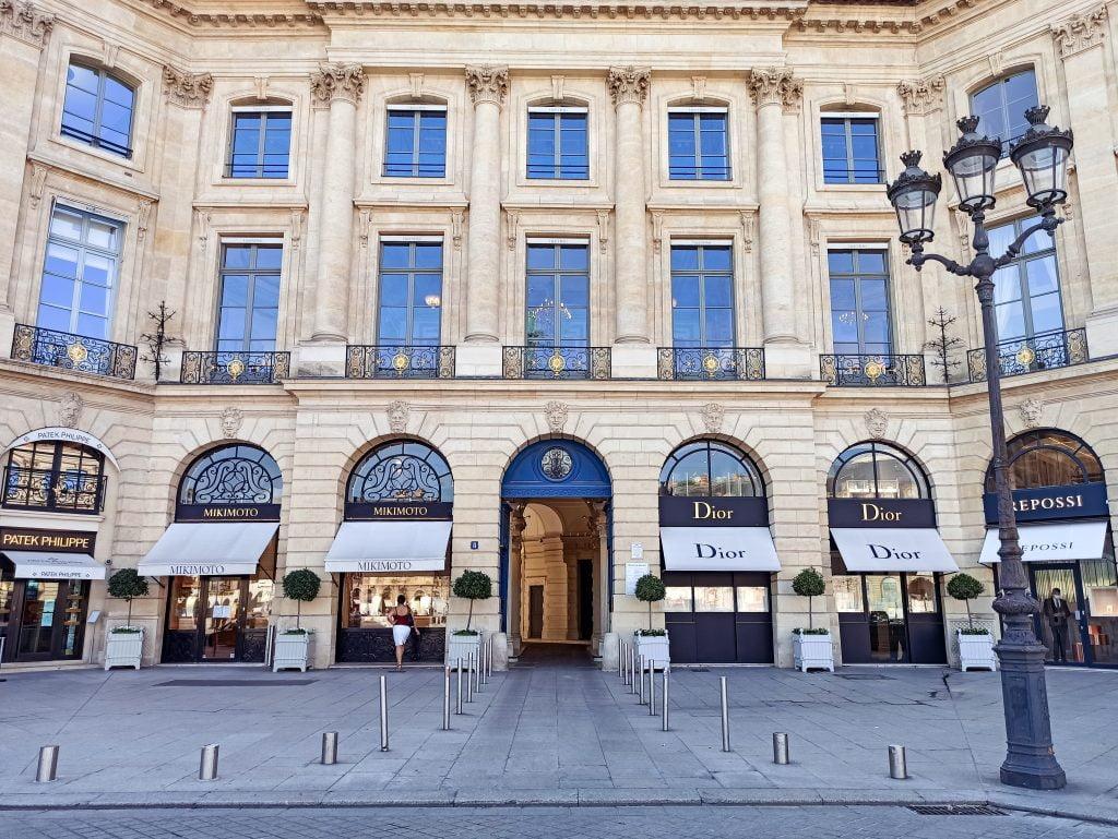 plaza Vendôme distrito I de París