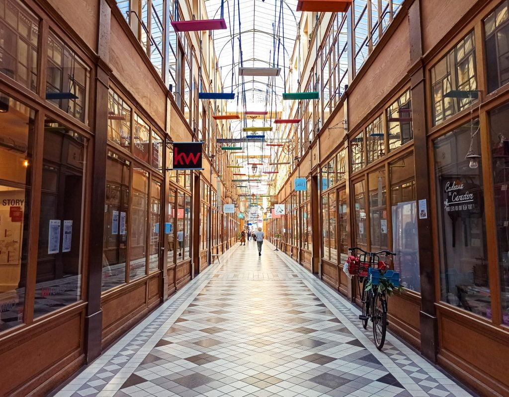 passage du grand cerf galerías cubiertas París
