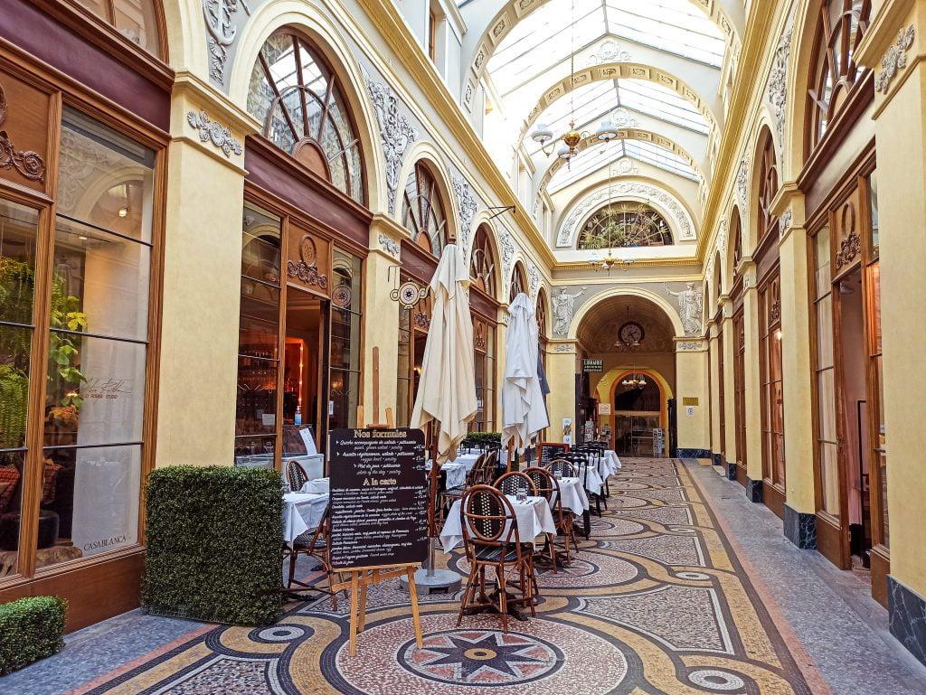 Galerie Vivienne Distritos II y IX París