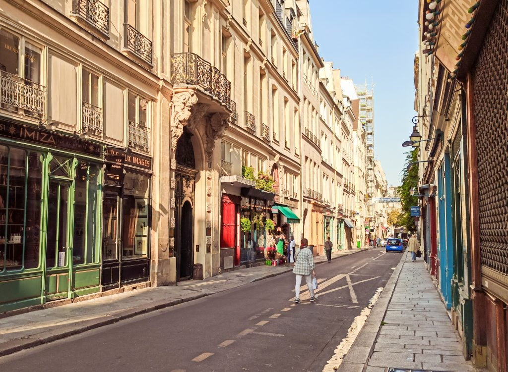 Rue Saint-Louis París islas