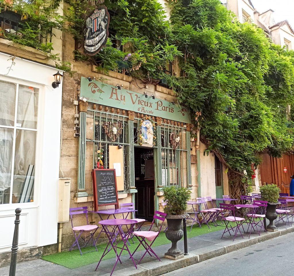 Au vieux Paris d'Arcole Islas