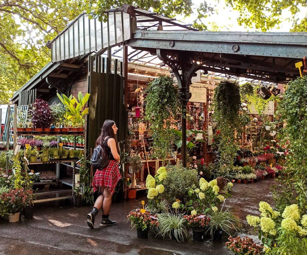 Marché aux fleurs París islas