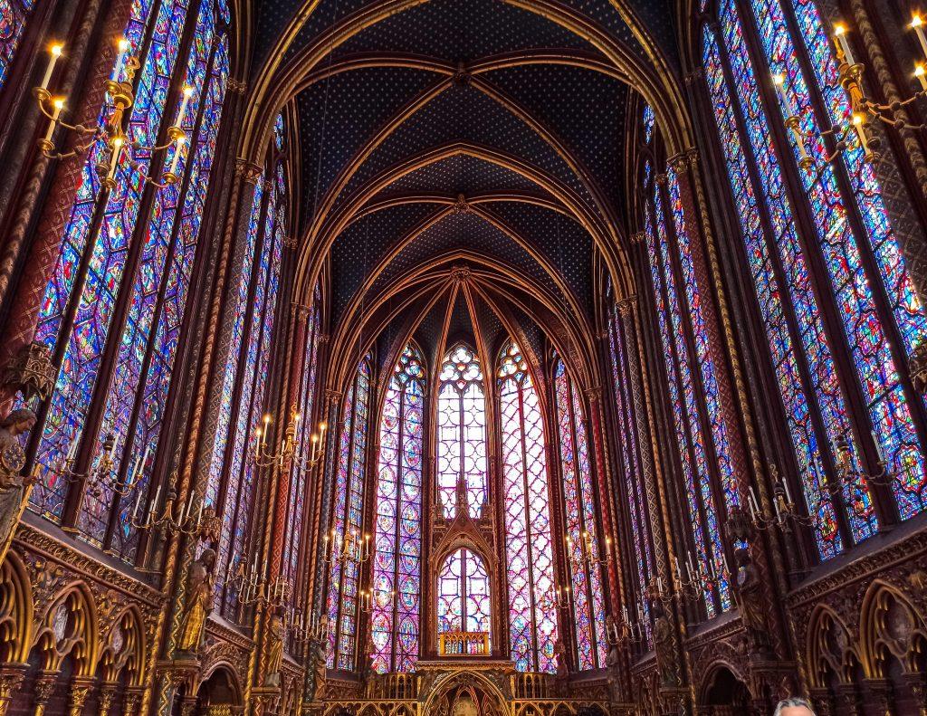 Sainte Chapelle islas París