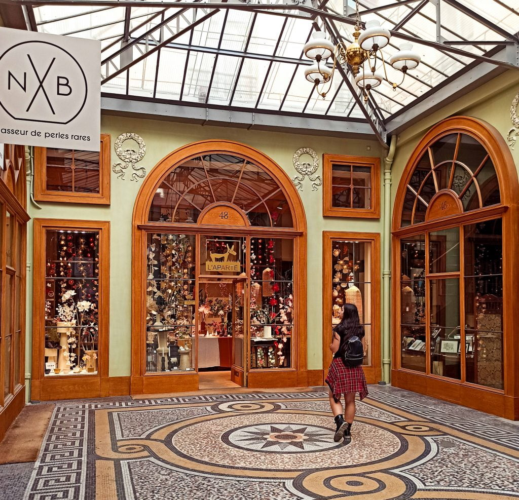 Galerie Vivienne galerías cubiertas París