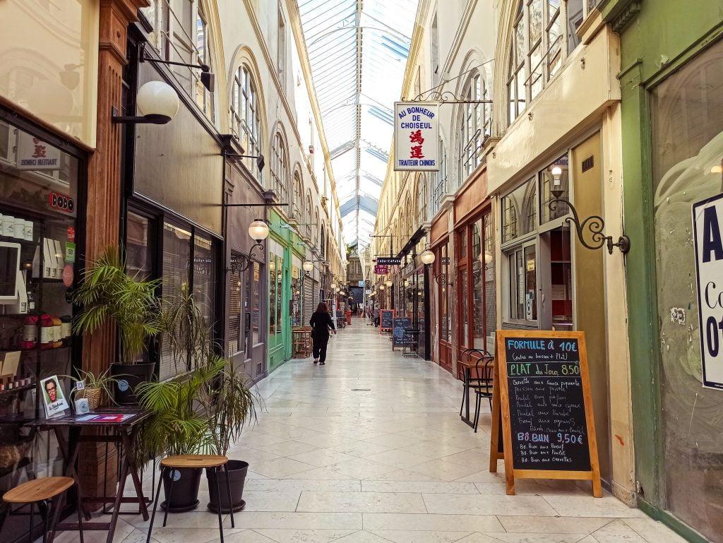 Passage Choiseul galerías cubiertas de París