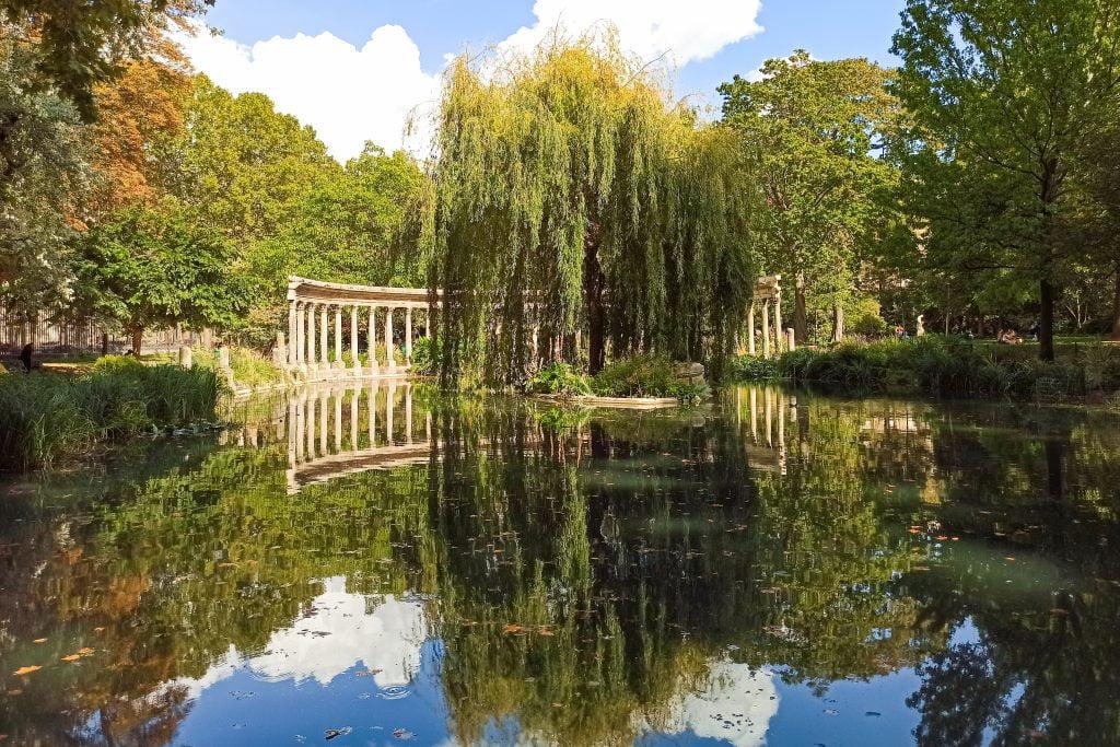 Lago del Parque Monceau, Distrito VIII de París