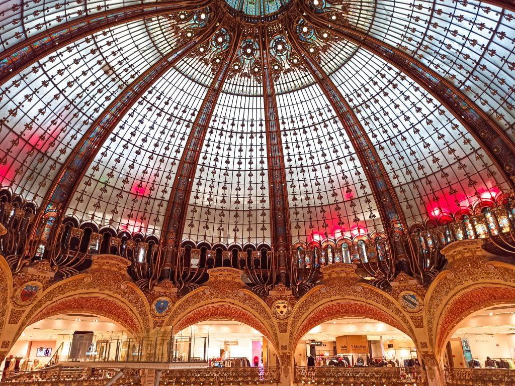Galerias lafayette 5 cosas malas de París