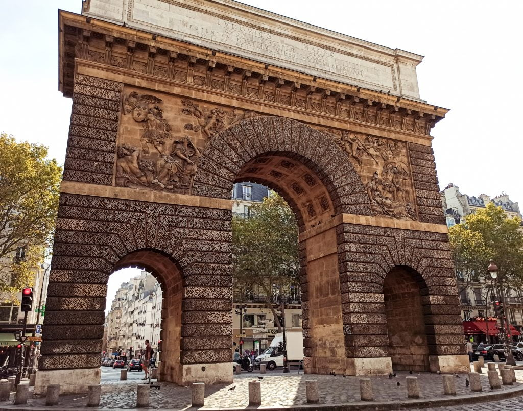 porte saint-martin parís