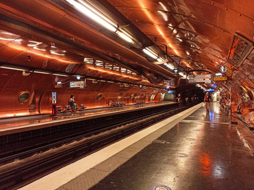 art et metiers metro