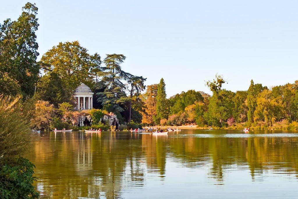 Bosque de Vincennes París
