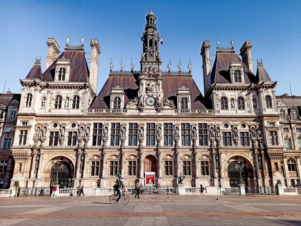 Hôtel de Ville París