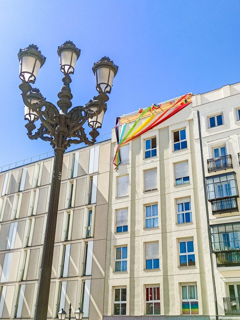 plaza pedro zerolo chueca madrid orgullo lgbt+ 2021